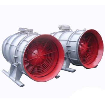 Шахтный вентилятор ВМЭ-5