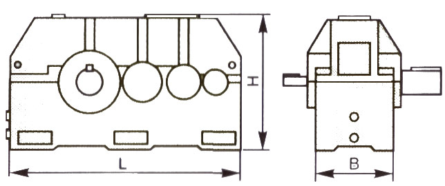 Редуктор Ц3У-315Н